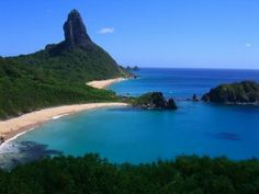 Fernando de Noronha is an archipelago of 21 islands belonging to the State of Pernambuco , in Northeast of Brazil . Discovered by Amerigo Vespucci Italian merchant and cartographer in […] Best Places To Travel, Vacation Places, Places To See, Vacations, Beaches In The World, Places Around The World, Around The Worlds, Most Beautiful Beaches, Beautiful Places