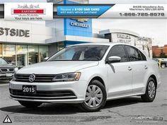 2015 Volkswagen Jetta – $16,499: Less than 30,000 kms. https://carandtruck.ca/car-dealerships/eastside-chevrolet-buick-gmc-markham-on-15/used-cars/2015-volkswagen-jetta-5379/