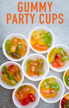 Soak your gummy candies in alcohol, making sure the booze completely covers the candy. Leave them alone for at least a few hours to let the gummies really marinate. (Warning: If they stay in the alcohol for too long, they'll become one big glob.) Drain the gummies and pack them up in little containers to have them on the go.