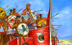 Η μάχη του Ευρυμέδοντα: Ο Κίμων συντρίβει τους Πέρσες – Cognosco Team Greek History, Ancient Greek, Ferris Wheel, Battle, Fair Grounds, Inspirational Quotes