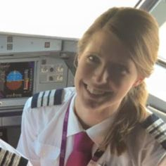 Most Popular Female Pilots from all Over the World: Captain Clare Irons Pilot Career, Airline Pilot, Female Pilot, International Airlines, Girls Uniforms, Cabin Crew, Most Popular, Worlds Of Fun, All Over The World