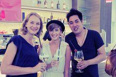 Bloggertrip mit Mareike Huprich, Mia Bühler und Yu-Ting Liu bei #meetmerano in der Tapas Bar The Gallery im City Hotel Merano