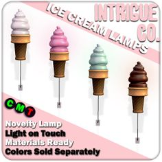 Intrigue Co. - Ice Cream Lamps: Summerfest '14 | Flickr - Photo Sharing!