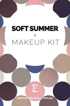 Soft Summer Makeup Kit — Perfect products, palettes and looks for Soft Summer women Source by busterino Bags outfit Make Up Kits, Soft Summer Color Palette, Summer Colors, Zooey Deschanel, Anastasia Beverly Hills, Soft Summer Makeup, Soft Autumn Makeup, Sparkle Eyeshadow, Sommer Make Up