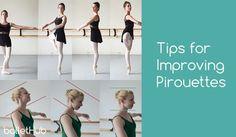 Tips for Improving Pirouettes   #ballet   ballethub.com