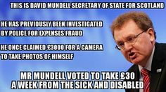 David Mundell  MP #ESAcuts