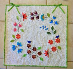 Little Bits and Pieces: Blogger's Quilt Festival - Mini Quilt