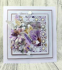 John Next Door: Cloudy Butterflies. Butterfly Cards, Flower Cards, Owl Punch, Dear John, Card Box Wedding, Next Door, Mothers Day Cards, Making Ideas, Cardmaking
