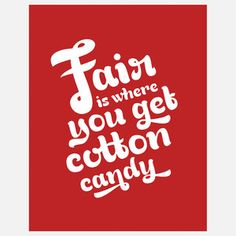 there's a true mom-ism! Fair Print Red 11x14 now featured on Fab.