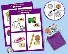 Money Partner Game#LakeshoreDreamClassroom