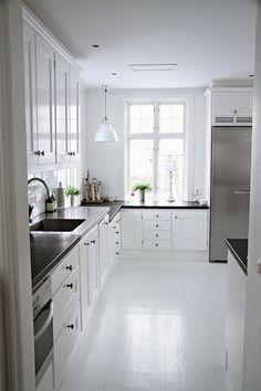 View frpm my kitchen, Kvänum-Miele