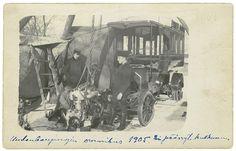 Uudenkaupungin linja-auto vuonna 1905 - Finna
