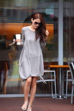 Lagenlook Cotton knitwear Sweater Dress for by Sophiaclothing, $89.99