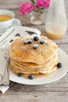 Blueberry Buttermilk Pancakes