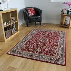 Antique Wine Red Patterned Border Design Rug - 4 Sizes Available The Rug House http://www.amazon.co.uk/dp/B00K2WE6BA/ref=cm_sw_r_pi_dp_50Ddwb1XQHVMH