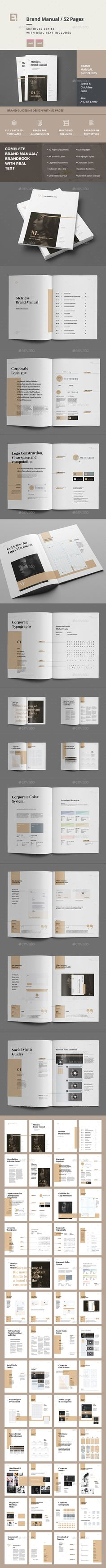 Brand Manual and Identity Template u2013 Corporate
