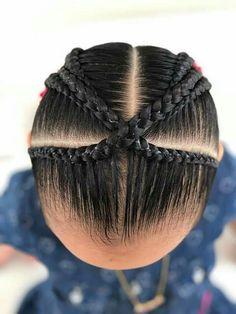 Toddler Braids, Braids For Kids, Girls Braids, Toddler Hair, Black Baby Hairstyles, Cute Little Girl Hairstyles, Trendy Hairstyles, Braided Hairstyles, Amber Hair