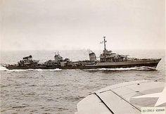 France's Fantasque class, the fastest destroyer class ever built.
