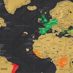 De Scratchmap deluxe editie #scratchmap