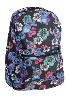 8069bb3df0a Disney Lilo and Stitch Tropical All Over Print Backpack - to start coupon  promotion