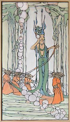 Woodblock prints (Estampes) :: Sea King's Daughter
