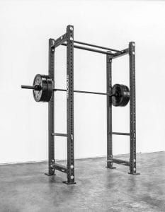 A rogue power rack required equipment for any serious home or