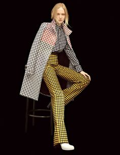 Maja Salamon Wears 'Modern Graphics' Lensed By Dusan Reljin For Harper's Bazaar Japan October2016 - 3 Sensual Fashion Editorials | Art Exhibits - Women's Fashion & Lifestyle News From Anne of Carversville