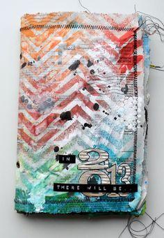 Au bout de mes doigts: Tuto : Art Journal