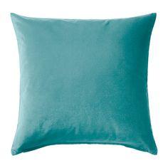 SANELA Housse de coussin IKEA Le velours de coton donne de la profondeur à la couleur et de la douceur au toucher.