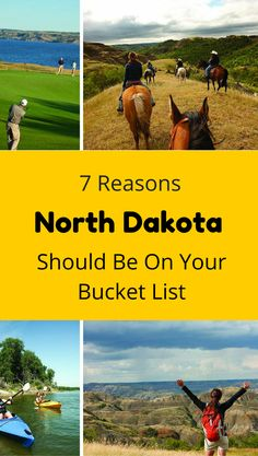 7 Reasons North Dakota Should Be On Your Travel Bucket List. #TBIN #ad