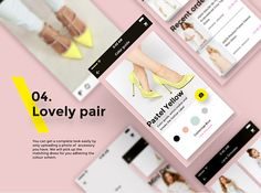 Re/dress e-commerce mobile app interface animation. In this showcase you can find a survey with some of the features and categories that we have implemented in the created app. In the animation section you can check a proposed option for choosing a dream dress easily in just a few steps.
