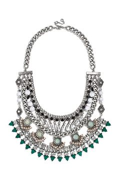 BaubleBar 'Romania' Bib Necklace available at #Nordstrom