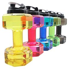 L PETG Dumbbells Large Water Bottle Free Sports Running Fitness Kettle Gym drinking water bottles drop ship# Gym Water Bottle, Large Water Bottle, Bpa Free Water Bottles, Plastic Bottles, Bottle Bottle, Shaker Bottle, Bodybuilding, Fit Girl, Outdoor Workouts