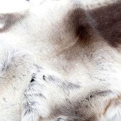 Scandinavian Reindeer Skins- throw for chair