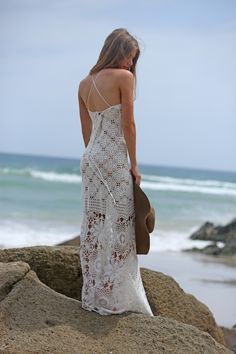 robe longue crochet Miss June