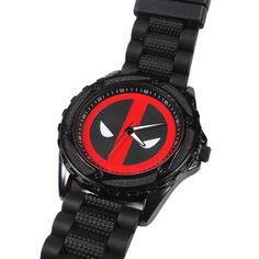 Marvel Comics Deadpool Logo Black Watch