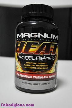 Turn your body into a fat-burning machine with Magnum Heat thermogenic! Fat burner.