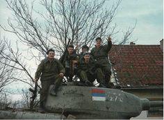 русские добровольцы воюют за Сербскую Краину