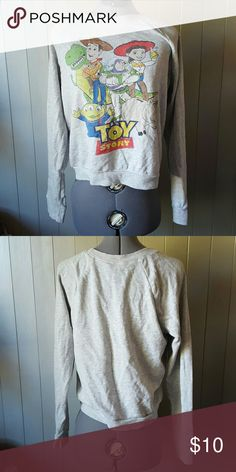 TODAY ONLY! Toy Story Sweatshirt Like new, no imperfections. Disney Tops Sweatshirts & Hoodies