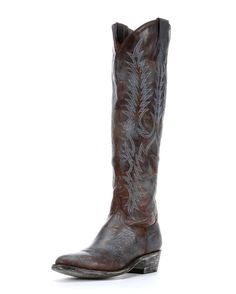 Tall western boot. LOVE
