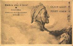 #Ravenna - Ricordo Dantesco - Domenica XIII settembre    #postcard #cartolina
