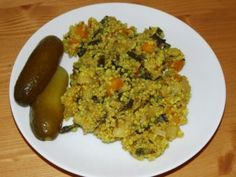 Recepty babičky Aničky - Zeleninová a bezmasá jídla - Pohanka, jáhly, sója, kroupy, cizrna 2 Raw Vegan, Vegan Vegetarian, Quinoa, No Cook Meals, Grains, Rice, Gluten Free, Chicken, Meat