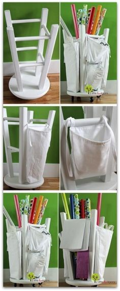These are really cool and practicable even if you don't have much time for DIY