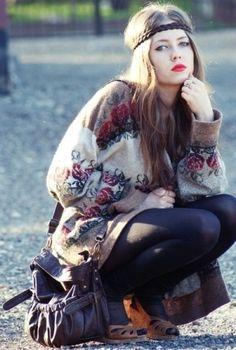#fall #fashion #2013 #Cozy #BoHo #Sweaters