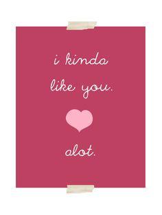 valentine's day romantic quote art print  by exlibrispaperdesigns, $12.00