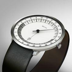 Botta Uno 24 Watch | White | Steel | Black Special Edition | Black | Black Steel