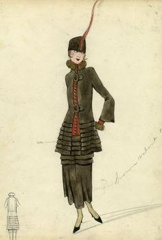Henri Bendel circa 1913-1915