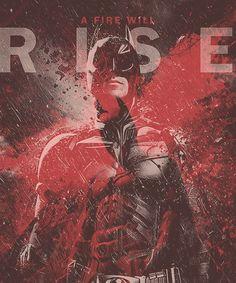 A Fire Will Rise (Fantastic Batman Fan-Art Illustrations on CrispMe)
