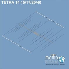 TETRA 15-17-20-40 m  – Yagi Antenna
