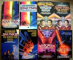 star trek motion picture movie novels